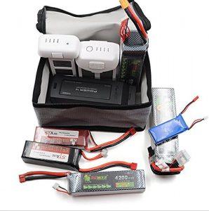 bolsas ignífugas para baterías lipo