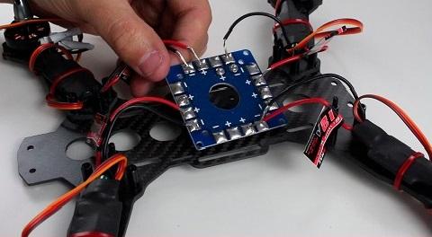 Construir drone de carreras