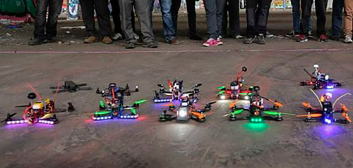 Drones de carreras