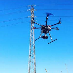 drones para inspección de redes eléctricas