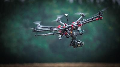 Como vuela un drone